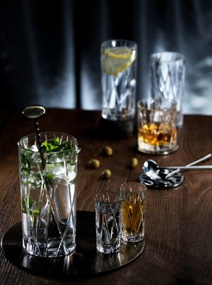 City Mixing Glass with Spoon  - Orrefors