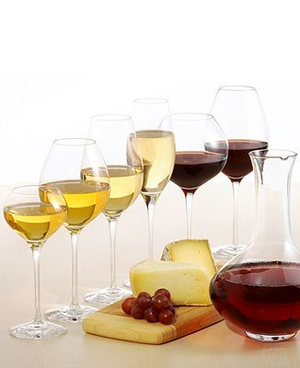 Difference Crisp White  Wine Glass - Orrefors