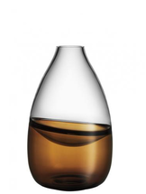 Septum Vase Golden Brown