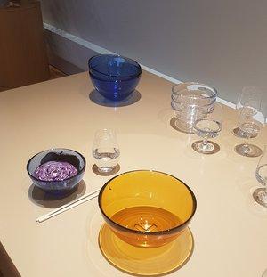 Bruk Serveringsskål Liten Blå - Kosta Boda Skål Vattenblå