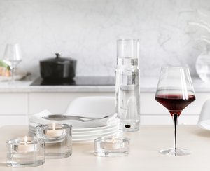 Metropol Red Wine Glass - Orrefors