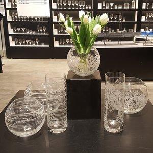 Organic Vas Cylinder - Orrefors