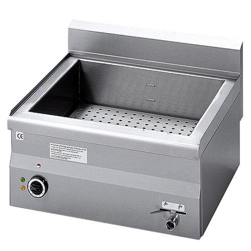 Elektrisk vattenbad,-bänk, 1 skål GN h 150 mm