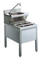 Handtvätt enhet med dräneringssystemet kombination, 500x700 mm