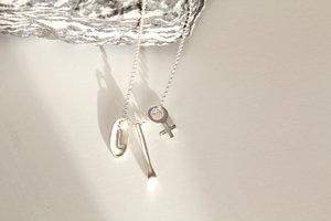 Berlock halsband - personlig treenighet