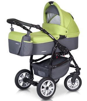 Euro-Cart  Passo  3-in-One Duo Kombi ( Svart)  Omgående leverans !