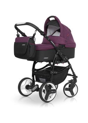 Euro-Cart  Passo 3-in-One Duo Kombi sport med  Bilstol    ( Purple)   Omgående leverans