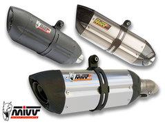 MIVV SUONO Rostfritt stål/Kolfiber ände