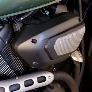 Luftrenarkåpa i rostfritt stål för XV950