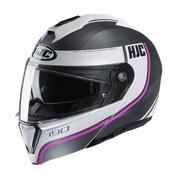 HJC I90 Davan - Vit/Rosa