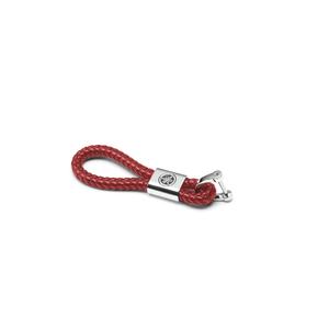 REVS-nyckelring i läder
