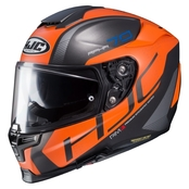 HJC RPHA 70 Vias - Svart/Orange