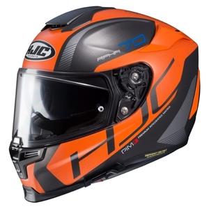 HJC RPHA 70 Vias - Svart/Orange