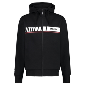 REVS Men's Zip-Up Hoodie - Svart
