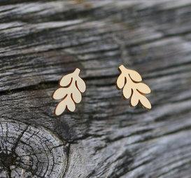 Örhänge Autumn Guld