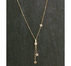 Halsband Starlight Guld