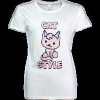 T-shirt Cat Style