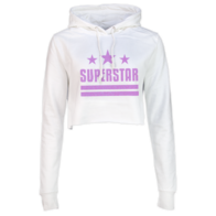 Polly Superstar Cropped Hoodie