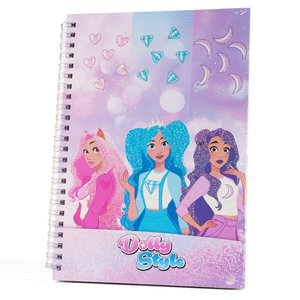 Dolly Style Spiral Notebook, 19 x 25 cm
