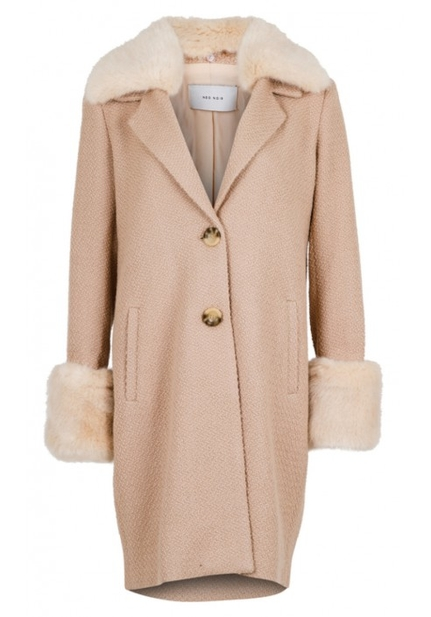 Daya Faux Fur Coat