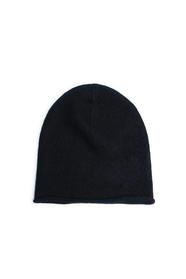 Rolled Edge Plain Knit Beanie - Lisa Yang