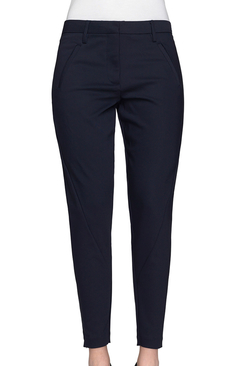Angelie Zip Navy Jegging Pants