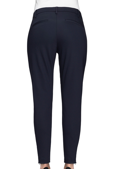 Angelie Zip Navy Jeggin Pants