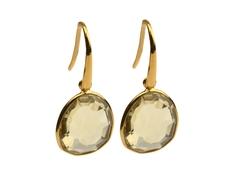 Glam Glam Earring Gold Lemon
