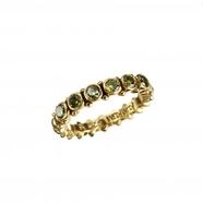 Pretty  Green Zirkon Ring