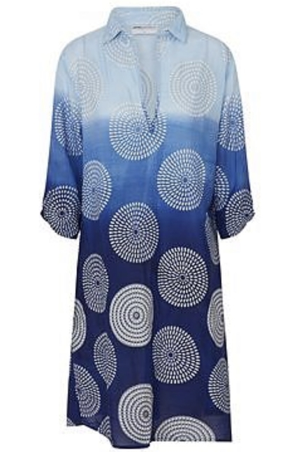 Shift Dress Sardinia Viscose
