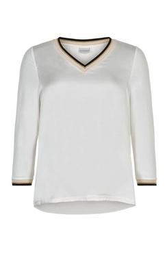 Silke blouse V-neck 3/4 sleeve
