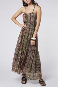 Snake Silky Dress