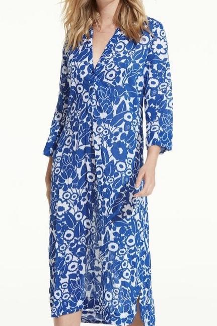 Cruise Lemnos  Blue Dress