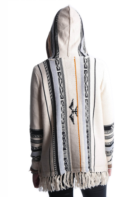 Non Sense Knitted Hoodie