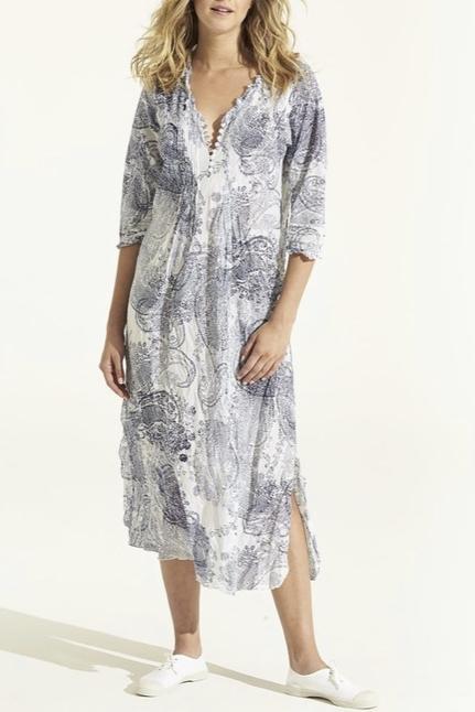 Long Poppy Dress Antibes