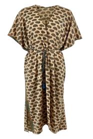 Luna Desert Blue Kimono Dress