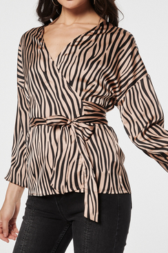 Celia Wrap Blouse