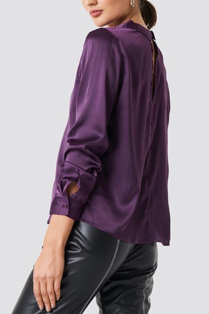 Rebecka Satin Shirt