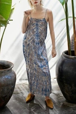 Laurette Spine Long Slip Dress