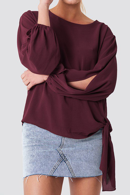 Amera Open Sleeve Blouse