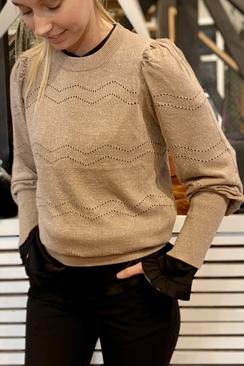 Magdalena Patten Knit Blouse