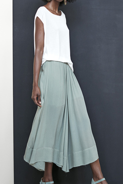 Sara Solid Skirt