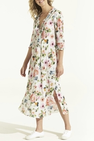 Long Poppy Dress San Jose Multi
