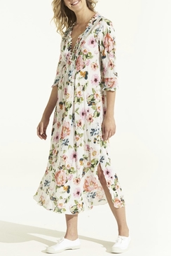 Long Poppy Dress San Jose Multi