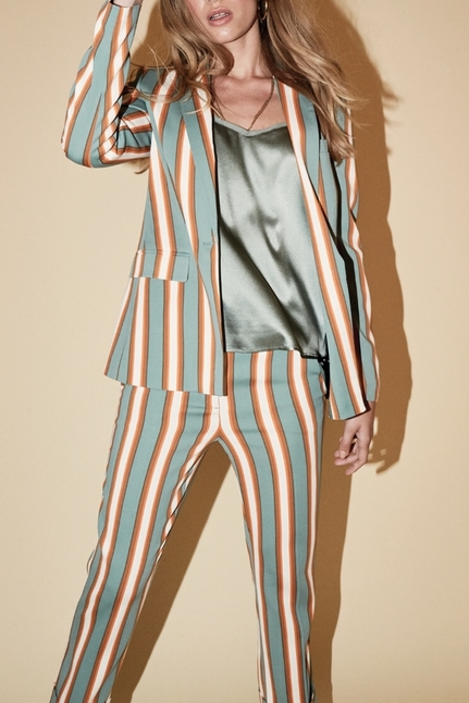 Cobb Stripe Blazer