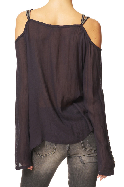 Gramercy Cold Shoulder Blouse