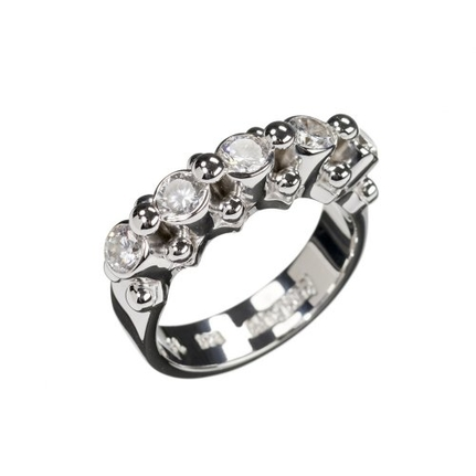 Dolce Silver Ring