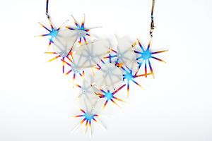 Self Proliferating Patterns: Starburst Neckpiece, 2012