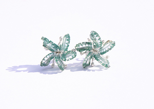 Undewater World: Teal Coral Earstuds, 2013