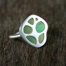 Patterns Organic Leaf Ring